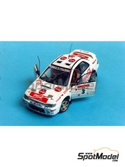 Renaissance Models: Model car kit 1/43 scale - Subaru Impreza WRC Coca Cola 1995 - resin multimaterial kit