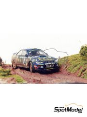 Renaissance Models: Model car kit 1/43 scale - Subaru Impreza WRC 555 - Colin McRae (GB) - Great Britain RAC Rally 1995 - resin multimaterial kit