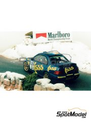 Renaissance Models: Model car kit 1/43 scale - Subaru Impreza WRC 555 - Didier Auriol (FR) - Svezia Sweden Rally 1996 - resin multimaterial kit