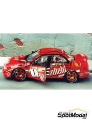Renaissance Models: Model car kit 1/43 scale - Subaru Impreza WRC Winfield - Triry - Ypres Rally 1997 - resin multimaterial kit