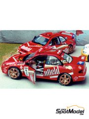 Renaissance Models: Model car kit 1/43 scale - Subaru Impreza WRC Winfield - Marc Duez (BE) - Condroz Rally 1997 - resin multimaterial kit