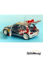 Renaissance Models: Model car kit 1/43 scale - Renault Clio Maxi Belga - Boucles de SPA 1995 - resin multimaterial kit