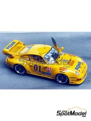 Renaissance Models: Model car kit 1/43 scale - Porsche 911 GT2 Rohr #1 - 24 Hours Daytona 1995 - resin multimaterial kit