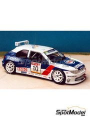 Renaissance Models: Model car kit 1/43 scale - Peugeot 306 Maxi 1995 - resin multimaterial kit