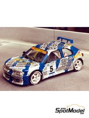 Renaissance Models: Model car kit 1/43 scale - Peugeot 306 Maxi - Vaison - resin multimaterial kit