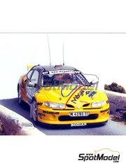 Renaissance Models: Model car kit 1/43 scale - Renault Megane Maxi Elf #11,20 - Oriol Gómez Marco (ES) + Marc Martí (ES) - Tour de Corse, Costa Brava Rally 1996 - resin multimaterial kit