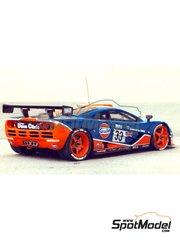 Renaissance Models: Model car kit 1/43 scale - McLaren F1 GTR Gulf #33, 34 - 24 Hours Le Mans 1996 - resin multimaterial kit