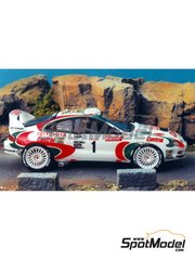 Renaissance Models: Model car kit 1/43 scale - Toyota Celica GT-Four WRC Castrol - Didier Auriol (FR) - Tour de Corse 1995 - resin multimaterial kit