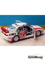 Renaissance Models: Model car kit 1/43 scale - Mitsubishi Lancer Evo III Ralli Art - 1000 Lakes Finland Rally 1996 - resin multimaterial kit