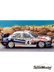 Renaissance Models: Model car kit 1/43 scale - Mitsubishi Lancer Evo III Rothmans - New Zealand rally 1996 - resin multimaterial kit
