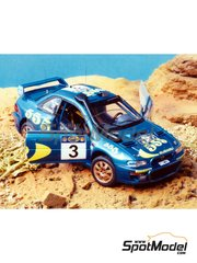 Renaissance Models: Model car kit 1/43 scale - Subaru Impreza WRC 555 - Safari Rally 1997 - resin multimaterial kit