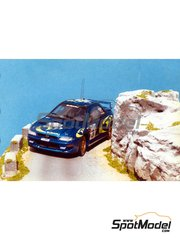 Renaissance Models: Model car kit 1/43 scale - Subaru Impreza WRC 555 - Tour de Corse 1997 - resin multimaterial kit