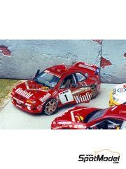Renaissance Models: Model car kit 1/43 scale - Subaru Impreza WRX Winfield - Bruno Thiry (BE) - Condroz Rally 1997 - resin multimaterial kit