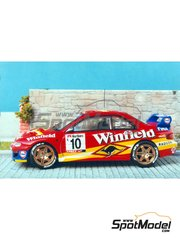 Renaissance Models: Model car kit 1/43 scale - Subaru Impreza WRX Winfield #10 - Renaud Verreydt (BE) + Jean-Francois Elst (BE) - Ypres Rally 1998 - resin multimaterial kit