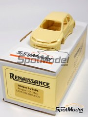 Renaissance Models: Model car kit 1/43 scale - Peugeot 106 Maxi rally 1997 - decals NOT included