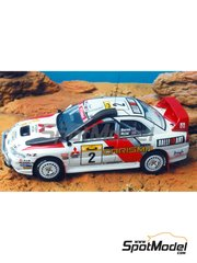 Renaissance Models: Model car kit 1/43 scale - Mitsubishi Carisma GT - Safari Rally 1998 - resin multimaterial kit