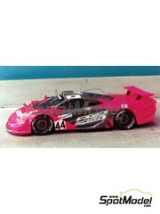 Renaissance Models: Model car kit 1/43 scale - McLaren F1 GTR Lark #44 - 24 Hours Le Mans 1997 - resin multimaterial kit