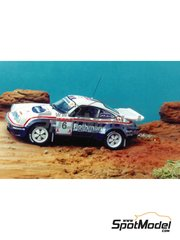 Renaissance Models: Model car kit 1/43 scale - Porsche 911 SCRS Rothmans 1984 and 1985 - resin multimaterial kit