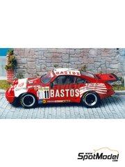 Renaissance Models: Model car kit 1/43 scale - Porsche 911 SCRS Bastos - Patrick Snijers (BE) - Ypres Rally 1984 - resin multimaterial kit