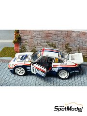 Renaissance Models: Model car kit 1/43 scale - Porsche 911 SCRS Rothmans - Henri Toivonen (FI) + Ian Grindrod (GB) - Ypres Rally 1984 - resin multimaterial kit