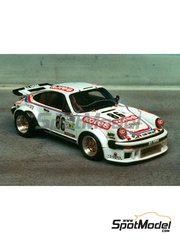 Renaissance Models: Model car kit 1/43 scale - Porsche 911 Turbo RSR Type 934 Kores #86 - 24 Hours Le Mans 1979 - resin multimaterial kit