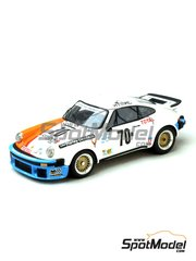 Renaissance Models: Model car kit 1/43 scale - Porsche 911 Turbo RSR Type 934 Citizen #70 - 24 Hours Le Mans 1976 - resin multimaterial kit