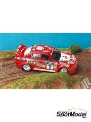 Renaissance Models: Model car kit 1/43 scale - Mitsubishi Lancer Evo V - Australian Rally 1998 - resin multimaterial kit