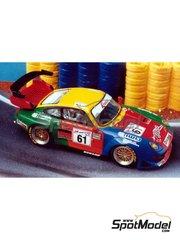 Renaissance Models: Model car kit 1/43 scale - Porsche 911 GT2 Evo 98 Krauss #61 - 24 Hours Le Mans 1998 - resin multimaterial kit