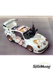 Renaissance Models: Model car kit 1/43 scale - Porsche 911 GT2 Tuiles TBF #68 - Eric Graham (FR) + Hervé Poulain (FR) + Jean-Luc Maury-Laribière (FR) - 24 Hours Le Mans 1998 - resin multimaterial kit