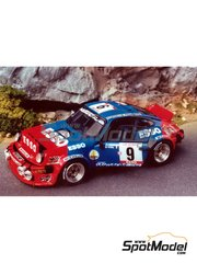 Renaissance Models: Model car kit 1/43 scale - Porsche 911 SC Esso - Tour de Corse 1980 - resin multimaterial kit