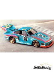Renaissance Models: Model car kit 1/43 scale - Porsche 935 BP #40 - 24 Hours Le Mans 1979 - resin multimaterial kit
