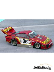 Renaissance Models: Model car kit 1/43 scale - Porsche 935 Gelo #36 - 24 Hours Le Mans 1979 - resin multimaterial kit