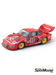 Renaissance Models: Model car kit 1/43 scale - Porsche 935 Hawaiian Tropic #90 - 24 Hours Le Mans 1978 - resin multimaterial kit