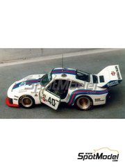 Renaissance Models: Model car kit 1/43 scale - Porsche 935 Martini #40 - 24 Hours Le Mans 1976 - resin multimaterial kit