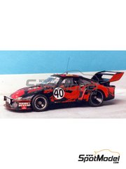 Renaissance Models: Model car kit 1/43 scale - Porsche 935 JMS #40 - 24 Hours Le Mans 1977 - resin multimaterial kit