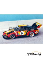 Renaissance Models: Model car kit 1/43 scale - Porsche 935 Spring Court #74 - 24 Hours Le Mans 1979 - resin multimaterial kit