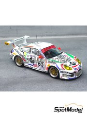 Renaissance Models: Model car kit 1/43 scale - Porsche 911 GT3 Champion #80 - 24 Hours Le Mans 1999 - resin multimaterial kit