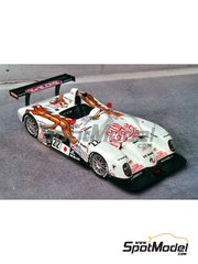 Renaissance Models: Model car kit 1/43 scale - Panoz Roadster-S Le Mans P2000 Team Dragon-TV Asahi #22, 23 - 24 Hours Le Mans 2000 - resin multimaterial kit