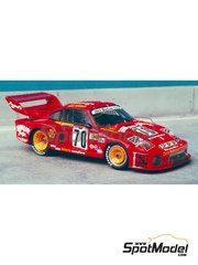 Renaissance Models: Model car kit 1/43 scale - Porsche 935 Hawaiian Tropic #70 - 24 Hours Le Mans 1979 - resin multimaterial kit