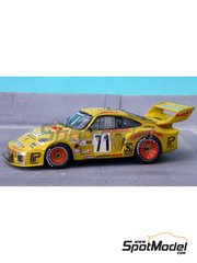 Renaissance Models: Model car kit 1/43 scale - Porsche 935 Dick Barbour Hawaiian Tropic #71 - 24 Hours Le Mans 1979 - resin multimaterial kit