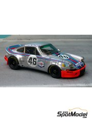 Renaissance Models: Model car kit 1/43 scale - Porsche 911 Carrera RSR 2.9 Martini #46 - 24 Hours Le Mans 1973 - resin multimaterial kit