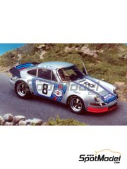 Renaissance Models: Model car kit 1/43 scale - Porsche 911 Carrera 2.8 RSR Martini - Targa Florio 1973 - resin multimaterial kit