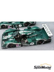 Renaissance Models: Model car kit 1/43 scale - Bentley EXP Speed 8 Mk2 #7, 8 - 24 Hours Le Mans 2003 - resin multimaterial kit