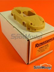 Renaissance Models: Model car kit 1/43 scale - Porsche 911 GT3 RS PK Sport AON #78 - David Warnock (GB) - 24 Hours Le Mans 2004 - resin multimaterial kit image