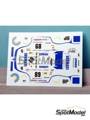 Renaissance Models: Model car kit 1/43 scale - Porsche 935 Sermati #89 - 24 Hours Le Mans 1980 - resin multimaterial kit