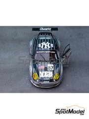Renaissance Models: Model car kit 1/43 scale - Porsche 911 GT3 RSR Orbit #87 - 24 Hours Le Mans 2004 - resin multimaterial kit