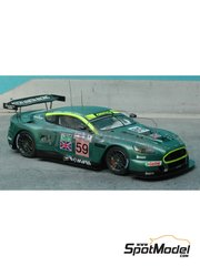 Renaissance Models: Model car kit 1/43 scale - Aston Martin DBR9 #58, 59 - 24 Hours Le Mans 2005 - resin multimaterial kit
