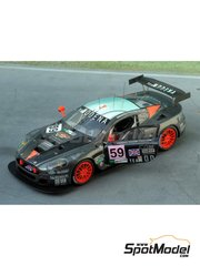 Renaissance Models: Model car kit 1/43 scale - Aston Martin DBR9 Team Modena  #59 - 24 Hours Le Mans 2007 - resin multimaterial kit