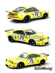 Renaissance Models: Model car kit 1/43 scale - Porsche 911 RSR  Opal #70 - 24 Hours Le Mans 1977 - resin multimaterial kit