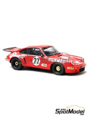 Renaissance Models: Model car kit 1/43 scale - Porsche 911 RSR  ELF #77 - 24 Hours Le Mans 1976 - resin multimaterial kit